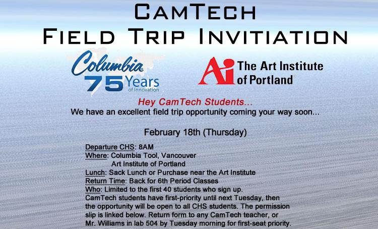 camtech_field_trip