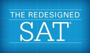 redesigned SAT test