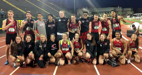 Oregon Relays Team